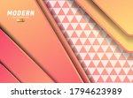 modern geometric abstract shape ... | Shutterstock .eps vector #1794623989