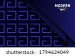 luxury premium blue vector... | Shutterstock .eps vector #1794624049