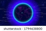 digital global connection... | Shutterstock .eps vector #1794638800