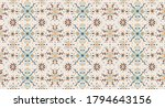 seamless floral pattern folk... | Shutterstock .eps vector #1794643156