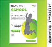 Modern Back To School Template  ...