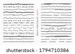 doodle underline line hand... | Shutterstock .eps vector #1794710386