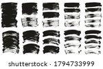 flat paint brush thin long  ... | Shutterstock .eps vector #1794733999