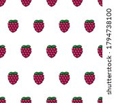 vector seamless pattern with... | Shutterstock .eps vector #1794738100