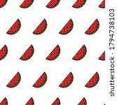 vector seamless pattern with... | Shutterstock .eps vector #1794738103