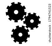 gear icon. vectot gear icon.... | Shutterstock .eps vector #1794741523