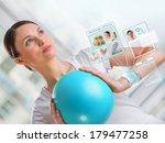 portrait of modern healthy... | Shutterstock . vector #179477258