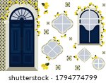 set of design elements with... | Shutterstock .eps vector #1794774799