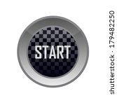 glossy start button | Shutterstock .eps vector #179482250