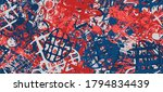 multi color abstract background.... | Shutterstock .eps vector #1794834439