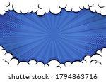 pop art comic background with... | Shutterstock .eps vector #1794863716