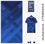 blue gradient geometry shape... | Shutterstock .eps vector #1794896419