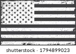 grunge flag of the united... | Shutterstock .eps vector #1794899023