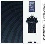 black gradient geometry shape... | Shutterstock .eps vector #1794899533