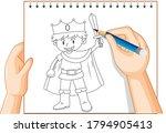 Hand Writing Of Knight Boy...