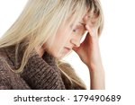 young caucasian woman  student... | Shutterstock . vector #179490689