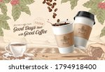 3d illustration to go coffee... | Shutterstock .eps vector #1794918400