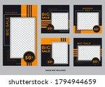 geometric template for social... | Shutterstock .eps vector #1794944659