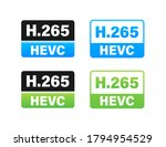 h.265 video compression... | Shutterstock .eps vector #1794954529