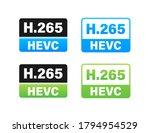 h.265 video compression...