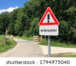 Dutch Traffic Road Sign Warnin...