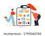 business topics   online... | Shutterstock .eps vector #1795060783
