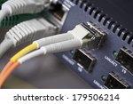 Macro Of A Fast Fiber Switch...