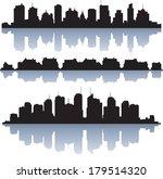 cityscape | Shutterstock .eps vector #179514320