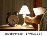 get out of bed in the middle of ... | Shutterstock . vector #179521184
