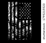 american skull flag t shirt... | Shutterstock . vector #1795215523
