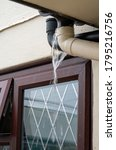 Angled Blocked Drainpipe From ...