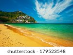 beach of san sebastian  spain  | Shutterstock . vector #179523548