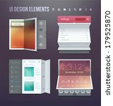 set of various elements used... | Shutterstock .eps vector #179525870