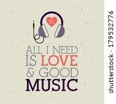 Love Music Design Over Pattern  ...