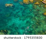 Diving On The Coastline Of The...