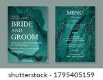 modern abstract luxury wedding... | Shutterstock .eps vector #1795405159