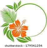 tropical frame | Shutterstock .eps vector #179541254