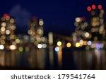 night lights of the city ... | Shutterstock . vector #179541764