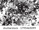 grunge texture black and white...   Shutterstock .eps vector #1795465099