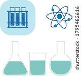 laboratory transparent...   Shutterstock .eps vector #1795482616