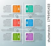 vector abstract 3d paper...   Shutterstock .eps vector #1795491433