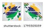 brazil happy independece day...   Shutterstock .eps vector #1795505059