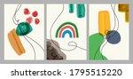 abstract contemporary modern... | Shutterstock .eps vector #1795515220