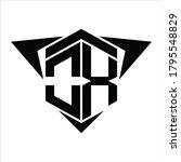 ox logo monogram with wings...   Shutterstock .eps vector #1795548829