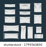 set of realistic banner with... | Shutterstock .eps vector #1795563850