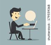 online business | Shutterstock .eps vector #179559368