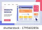 website design wireframe ruler...