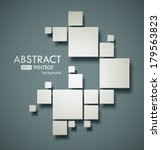 abstract squares background... | Shutterstock .eps vector #179563823