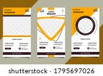 set of minimalist background... | Shutterstock .eps vector #1795697026