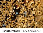 Magical Golden Bokeh Clusters...